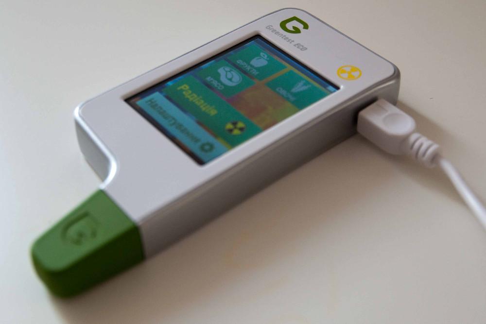 GreenTest ECO. Работает от встроенной, перезаряжаемой аккумуляторной батареи.