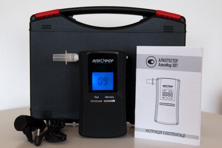 Алкотестер АлкоФор 307