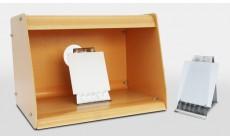 Камера для опрыскивания окрашивающим веществом с установочным столиком