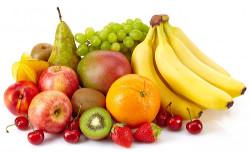 Перечень проверяемых фруктов прибором GreenTest